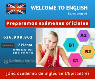 ¿Una academia de inglés en L'Epicentre_