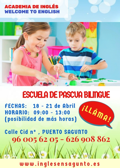 Escuela de pascua en inglés