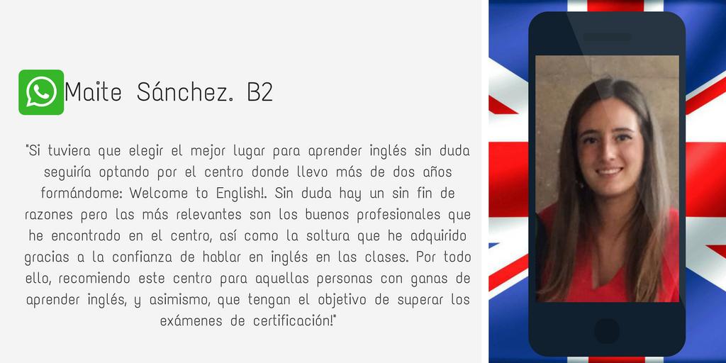 Testimonio Maite Sánchez B2.